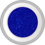 Blue – Star (Glitter - Colorgel)